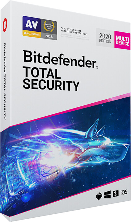 Bitdefender Total Security 2020 - 5 licence (24 měs.)