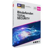 Bitdefender Total Security - 10 zařízení na 1 rok - BOX - TS01ZZCSN1210LEN_BOX