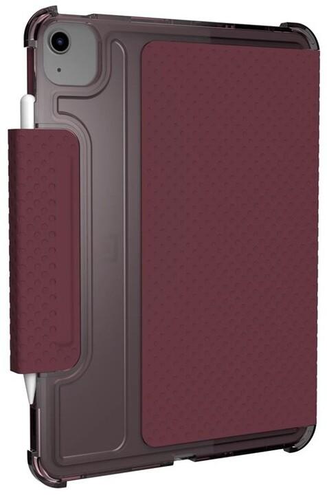 """U by UAG pouzdro Lucent pro iPad Air 10.9""""/Pro 11"""", červená/transparentní"""