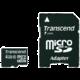 Transcend Micro SDHC 4GB Class 10 + adaptér