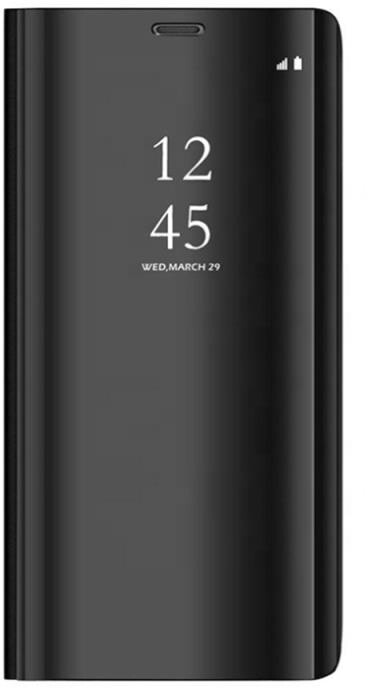 Forever flipové pouzdro smart Clear View pro Huawei Y6S/Y6 Prime (2019)/Honor 8A, černá