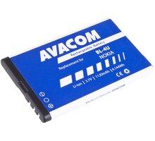 Avacom baterie do mobilu Nokia 5530/E66/5530/E75/5730, 1120mAh, Li-Ion - GSNO-BL4U-S1120A