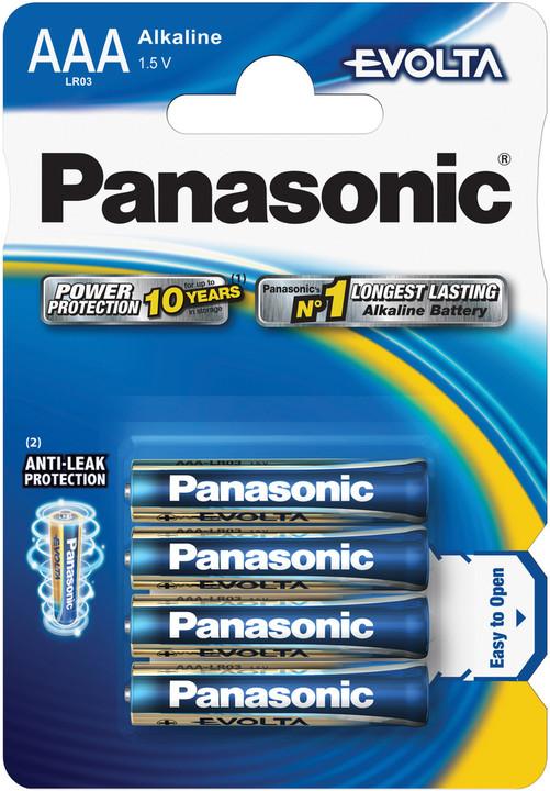 Panasonic baterie LR03 4BP AAA Evolta alk