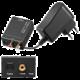 PremiumCord Převodník z analogového signálu 2xCINCH na digitální SPDIF a optický Toslink