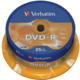 Verbatim DVD-R AZO 16x 4,7GB spindl 25ks