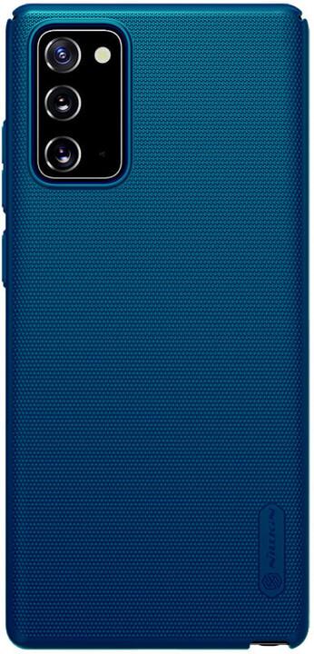 Nillkin zadní kryt Super Frosted pro Samsung Galaxy Note20, paví modrá