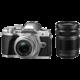 Olympus E-M10 Mark III + 14-42mm II R + 40-150mm R, stříbrná/stříbrná/černá  + Voucher až na 3 měsíce HBO GO jako dárek (max 1 ks na objednávku)