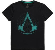 Tričko Assassins Creed: Valhalla - Crest Grid (XXL) - TS042538ASC-2XL