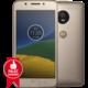 Motorola Moto G5 - 16GB, LTE, zlatá  + Zdarma GSM reproduktor Accent Funky Sound, červená (v ceně 299,-)