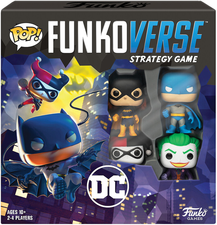 Desková hra POP! Funkoverse - DC Comic Base Set (EN)