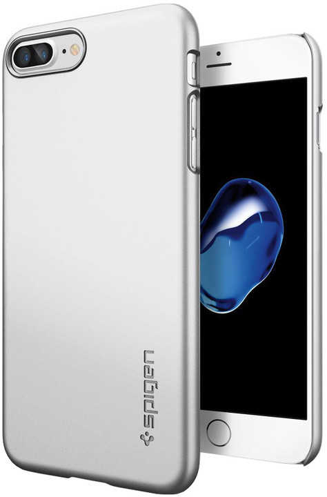 Spigen Thin Fit pro iPhone 7 Plus, satin silver