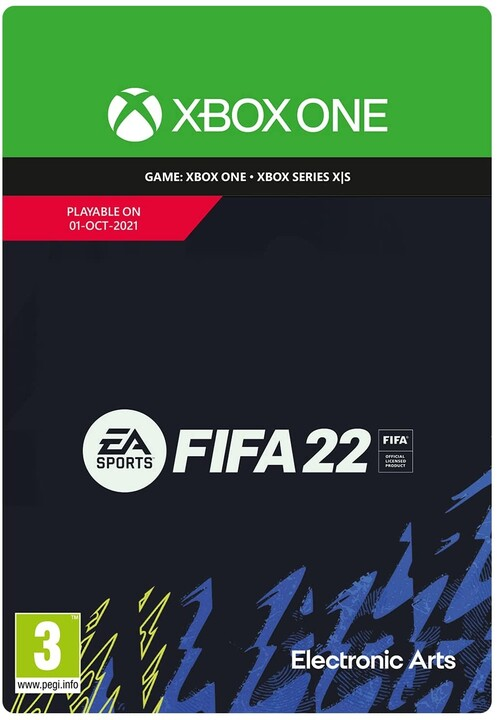 FIFA 22 - Standard Edition (Xbox) - elektronicky