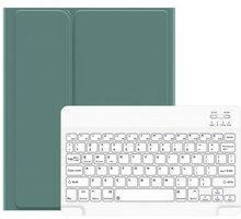 """Usams ochranný kryt s klávesnicí BH655 pro Apple iPad Air 10.9"""", zelená/bílá - 57983102525"""