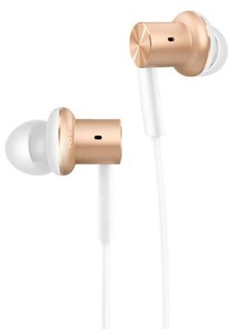 Xiaomi Ring Iron Headphone, zlatá