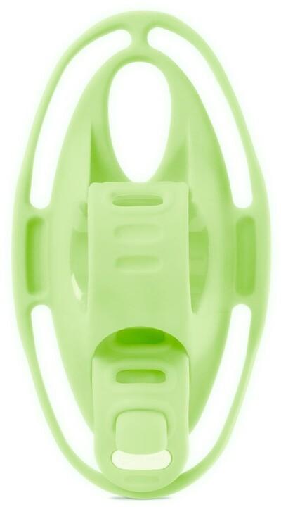 """BONE držák na kolo 4,7 - 7,2"""", Bike Tie 4, na řidítka, svítivě zelená"""