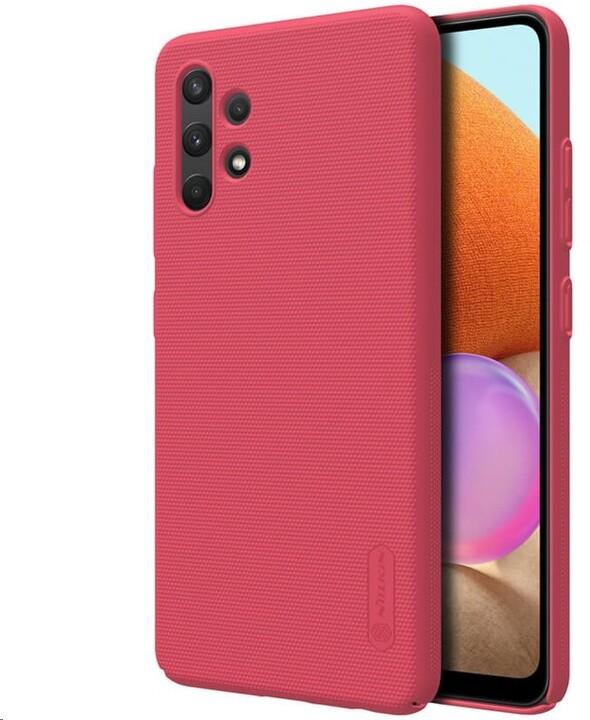 Nillkin zadní kryt Super Frosted pro Samsung Galaxy A32, červená