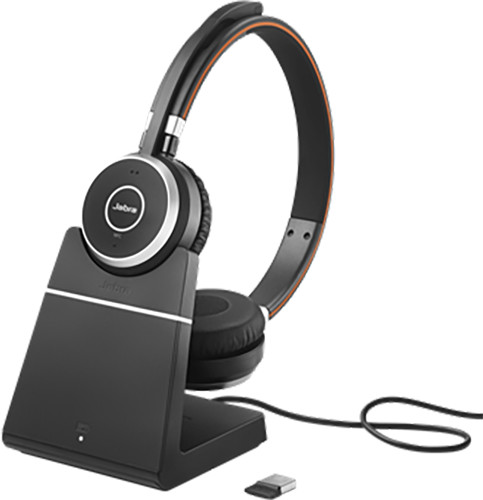 Jabra Evolve 65, Duo, USB-BT, MS, stojánek