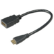 Akasa adapter HDMI na mini HDMI - 25 cm