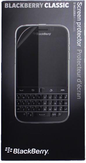 BlackBerry ochranná fólie na displej pro BlackBerry Classic (2ks)