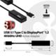 Club3D USB 3.1 TYPE C na DisplayPort 1.2, aktivní převodník