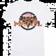 Tričko Marvel - Captain Marvel, logo, bílé (XL)