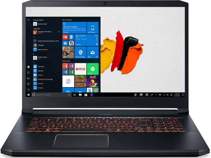 Acer ConceptD 5 (CN517-71-79S7), černá