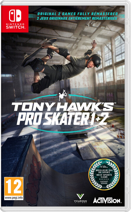 Tony Hawks Pro Skater 1 + 2 (SWITCH)