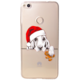 EPICO pružný plastový kryt pro Huawei P9 Lite (2017) XMAS DOG