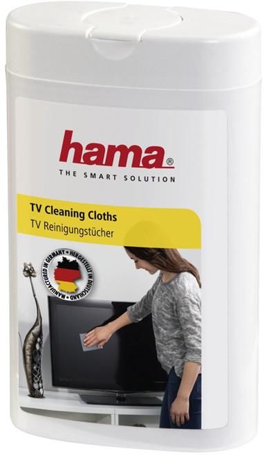Hama čisticí utěrky pro TV, 100 ks, vlhké