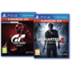 PS4 HITS - Gran Turismo Sport + Uncharted 4: A Thief's End