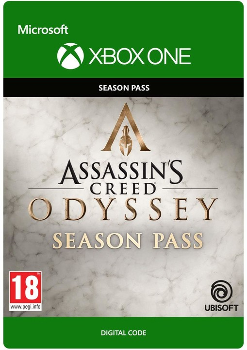 Assassin's Creed Odyssey: Season Pass (Xbox ONE) - elektronicky