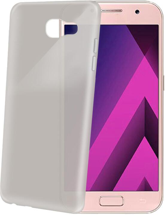 CELLY Frost Ultra tenké TPU pouzdro pro Samsung Galaxy A5 (2017), 0,29 mm, černé