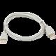 PremiumCord USB 2.0 A-A M/F 3m prodlužovací kabel