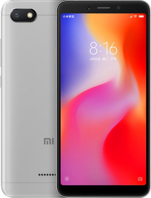 Xiaomi Redmi 6A 32GB šedý