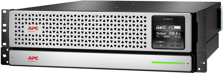 APC Smart SRT Li-Ion 1000VA, RM, 230V, 3U, síťová karta