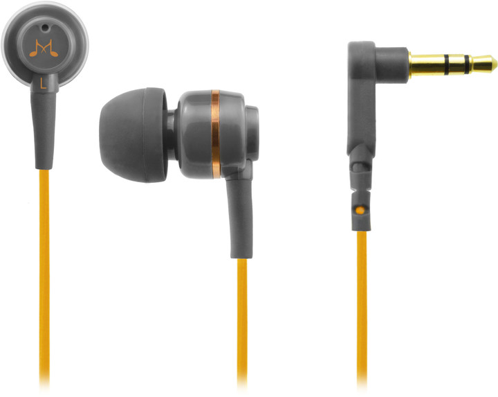 SoundMAGIC ES18, šedo-oranžová
