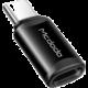 Mcdodo adaptér Lightning - USB-C, černá