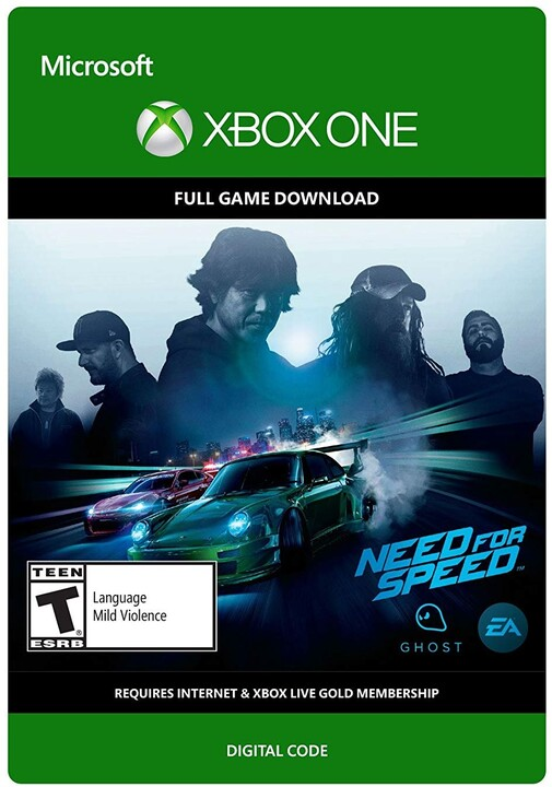Need For Speed: Standard Edition (Xbox ONE) - elektronicky
