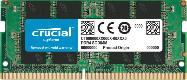 Crucial 16GB DDR4 3200 SO-DIMM