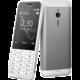 Nokia 230, Single Sim, stříbrná