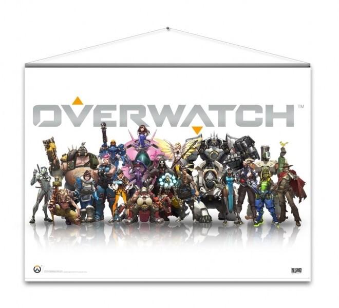 Wallscroll Overwatch - Heroes