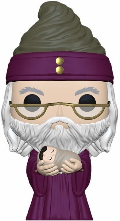 Figurka Funko POP! Harry Potter - Dumbledore With Baby Harry