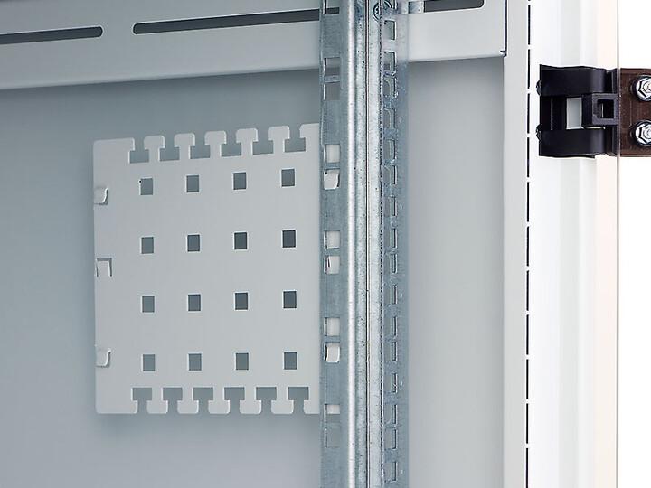 Triton vyvazovací panel RAC-VP-X12-X1, 150x170mm, pro zavěšení, šedý