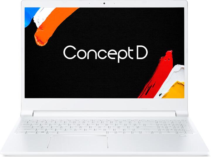 Acer ConceptD 3 (CN315-71-79VR), bílá