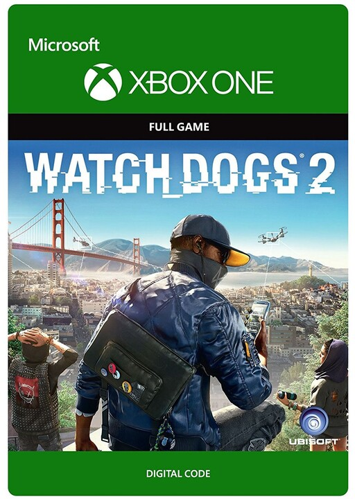 Watch Dogs 2 (Xbox ONE) - elektronicky