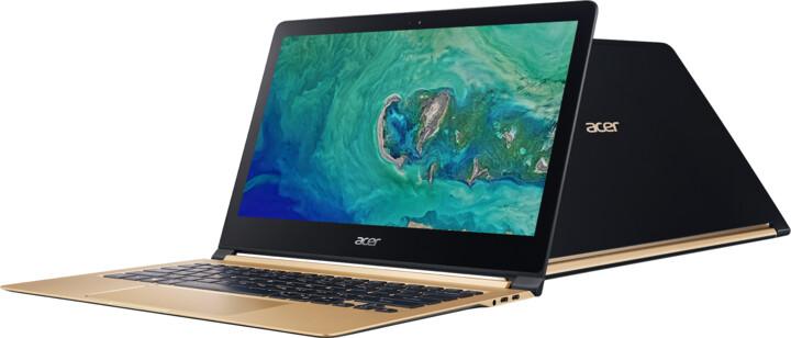 Acer Swift 7 celokovový (SF713-51-M0KW), černozlatá