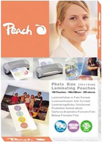 Peach laminovací fólie 10x15, 125mic, 100ks