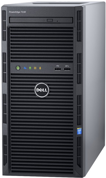 Dell PowerEdge T130 /E3-1220v6/8GB/1x2TB NLSAS/H330/iDRAC 8 Bas./1x290W/3YNBD