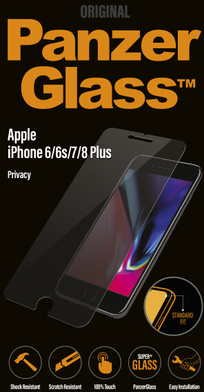 PanzerGlass - filtr pro soukromí - pro Apple iPhone 6/6s/7/8 Plus