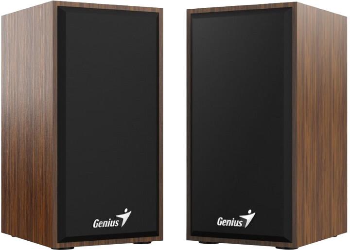 Genius SP-HF180, 2.0, dřevěné